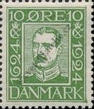 Stamp Denmark Catalog number: 140