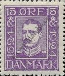 Stamp Denmark Catalog number: 141