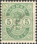 Stamp Denmark Catalog number: 34