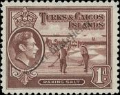 Stamp Turks & Caicos Islands Catalog number: 120