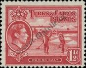 Stamp Turks & Caicos Islands Catalog number: 121