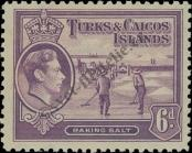 Stamp Turks & Caicos Islands Catalog number: 125
