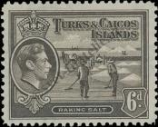Stamp Turks & Caicos Islands Catalog number: 126