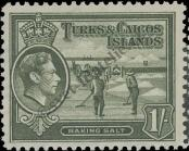 Stamp Turks & Caicos Islands Catalog number: 128