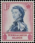 Stamp Turks & Caicos Islands Catalog number: 163