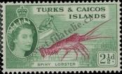 Stamp Turks & Caicos Islands Catalog number: 166