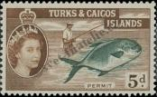Stamp Turks & Caicos Islands Catalog number: 169