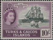 Stamp Turks & Caicos Islands Catalog number: 176
