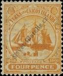 Stamp Turks & Caicos Islands Catalog number: 38