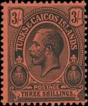 Stamp Turks & Caicos Islands Catalog number: 68
