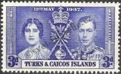 Stamp Turks & Caicos Islands Catalog number: 117