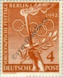 Stamp Western Berlin Catalog number: 88