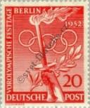 Stamp Western Berlin Catalog number: 90