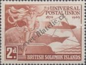 Stamp Solomon Islands Catalog number: 76