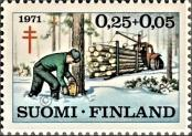 Stamp Finland Catalog number: 686