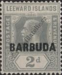 Stamp Barbuda Catalog number: 3