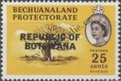 Stamp Botswana Catalog number: 14