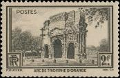 Stamp France Catalog number: 410