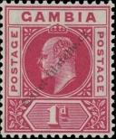 Stamp Gambia Catalog number: 41