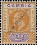 Stamp Gambia Catalog number: 42