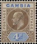 Stamp Gambia Catalog number: 45