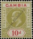 Stamp Gambia Catalog number: 49