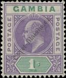 Stamp Gambia Catalog number: 50