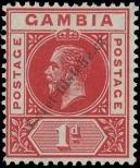 Stamp Gambia Catalog number: 67