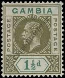 Stamp Gambia Catalog number: 68