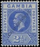 Stamp Gambia Catalog number: 70