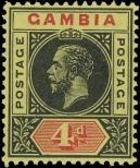 Stamp Gambia Catalog number: 72