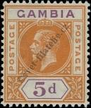 Stamp Gambia Catalog number: 73