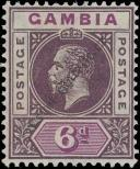 Stamp Gambia Catalog number: 74