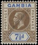 Stamp Gambia Catalog number: 75