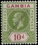 Stamp Gambia Catalog number: 76