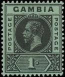 Stamp Gambia Catalog number: 77