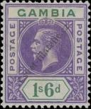 Stamp Gambia Catalog number: 78