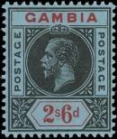 Stamp Gambia Catalog number: 80