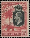 Stamp Gambia Catalog number: 95