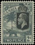 Stamp Gambia Catalog number: 96