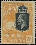 Stamp Gambia Catalog number: 97