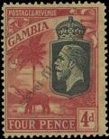 Stamp Gambia Catalog number: 99