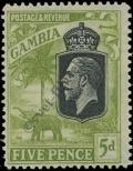 Stamp Gambia Catalog number: 100