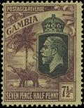 Stamp Gambia Catalog number: 102