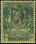 Stamp Gambia Catalog number: 110