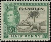 Stamp Gambia Catalog number: 123