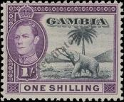 Stamp Gambia Catalog number: 132