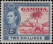 Stamp Gambia Catalog number: 134
