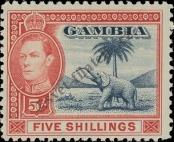 Stamp Gambia Catalog number: 137