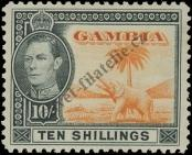 Stamp Gambia Catalog number: 138